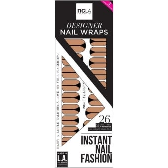 Instant Nail Fashion Designer Nail Wraps - Imagine It Was Us (26 Wraps)