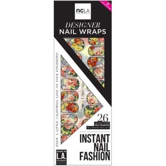 Instant Nail Fashion Designer Nail Wraps - Mother Knows Best (26 Wraps)