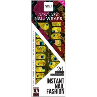 Instant Nail Fashion Designer Nail Wraps - Royal Guard (26 Wraps)