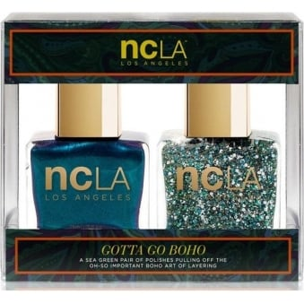 Nail Polish Collection Fashion Nail Lacquer Duo - Gotta Go Boho (x2 15ml)