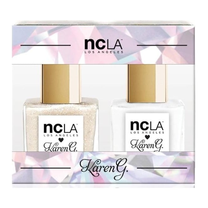 ncLA Los Angeles Nail Polish Collection Fashion Nail Lacquer Duo - Karen G Luxury (x2 15ml)