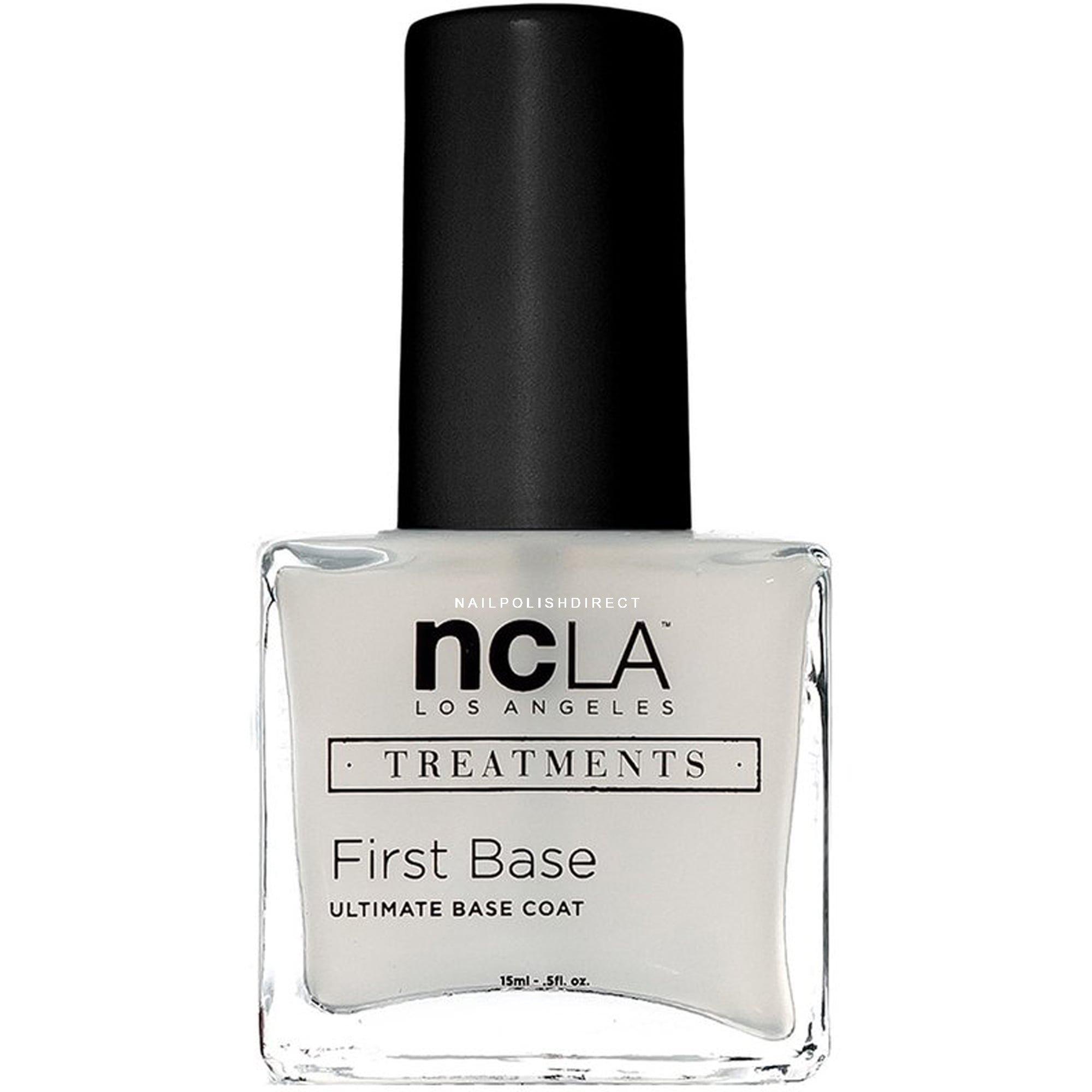 Base Coat Nail Polish: NCLA Nail Polish Collection Treatment Nail Base Coat First