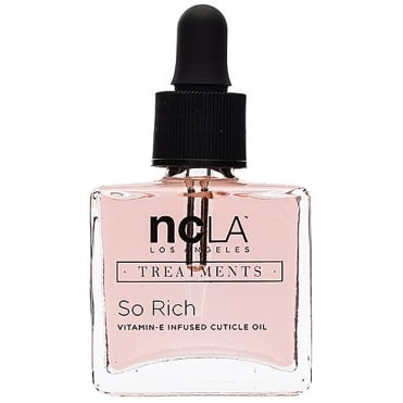 Nail Polish Collection Fashion Treatment Nail Lacquer Cuticle Oil - So Rich 15ml