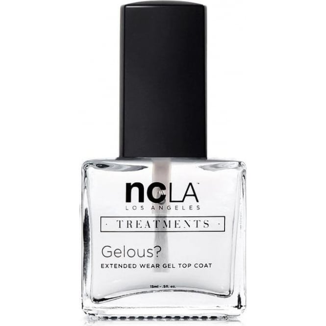ncLA Los Angeles Nail Polish Collection Fashion Treatment Nail Lacquer Extended Topcoat - Gelous 15ml