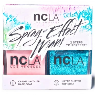 Nail Polish Spray Effect Collection Fashion Nail Lacquer Duo - Dawn Patrol (x2 15ml)