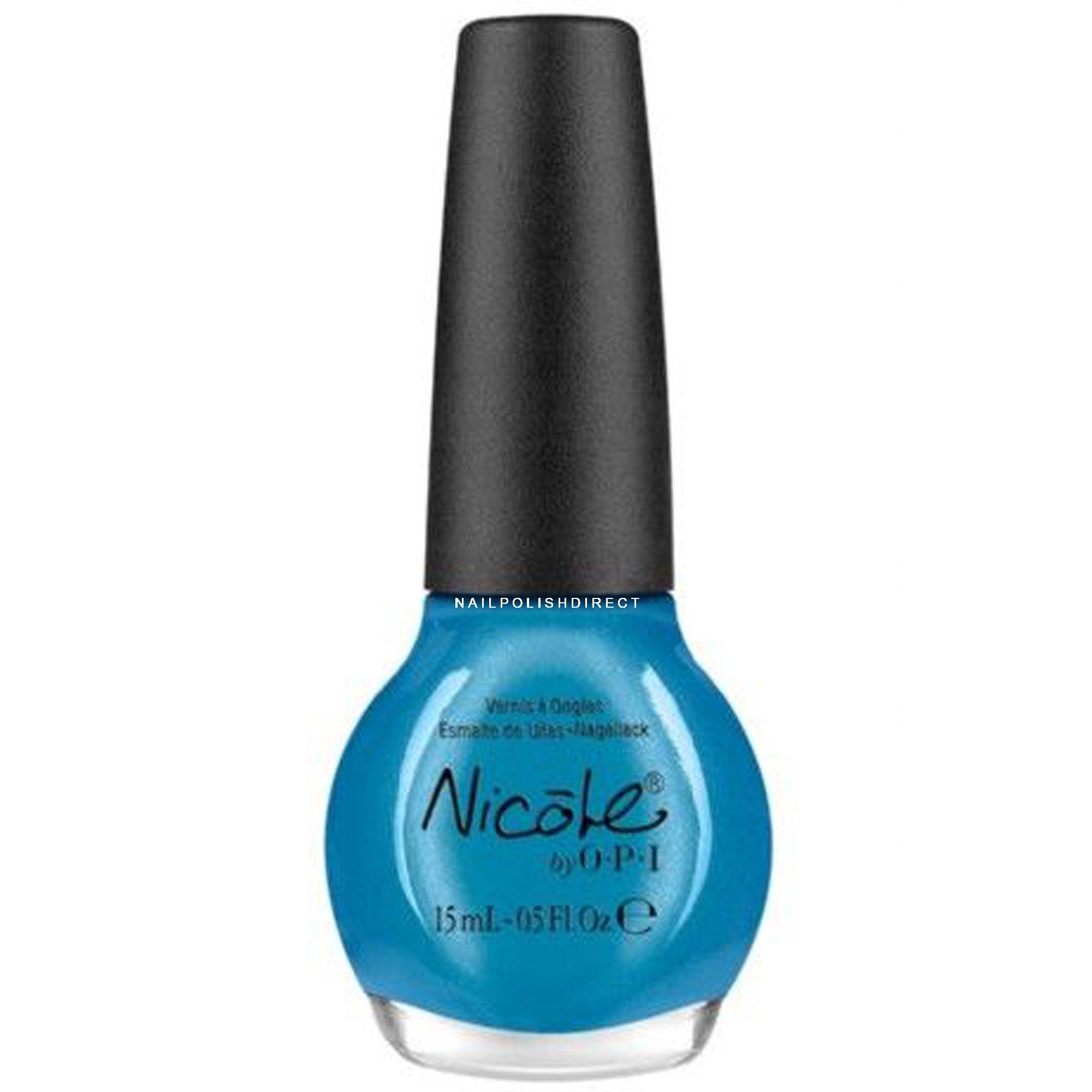 Blue Nail Varnish Uk: Nicole By OPI Nail Polish