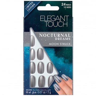 Nocturnal Dreams False Nails - Moon Struck (24 Nails)