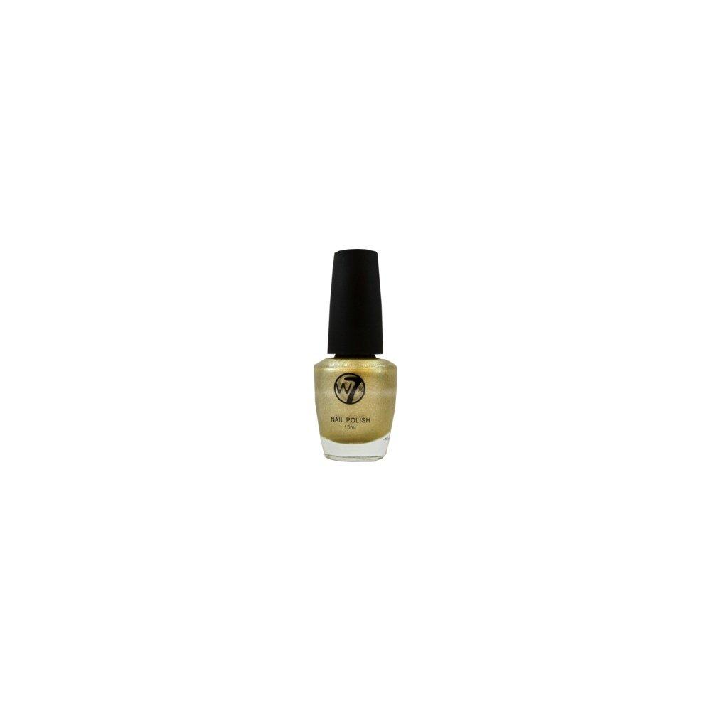W7 nail polish mirror gold for Mirror nail polish
