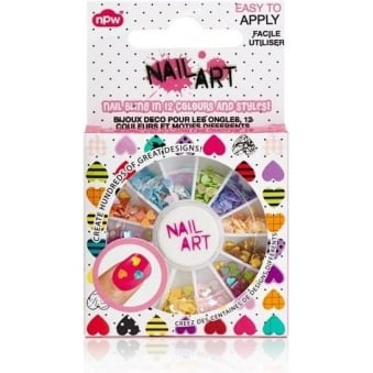 Nail Art Decorating Sequin Wheel - Nail Bling (500 Pieces)