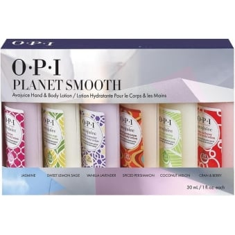 Avojuice Hydrating Mini Skin Quenchers Set - Planet Smooth Hand & Body Lotion (30ml x6)