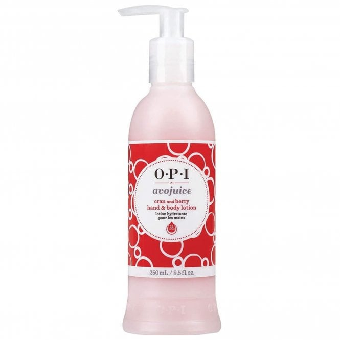 OPI Avojuice Hydrating Skin Quenchers - Cran & Berry Juicie Hand & Body Lotion 250ml