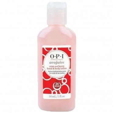 Avojuice Hydrating Skin Quenchers - Cran & Berry Juicie Hand & Body Lotion 30ml