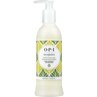 Avojuice Hydrating Skin Quenchers - Sweet Lemon Sage Hand & Body Lotion 250ml