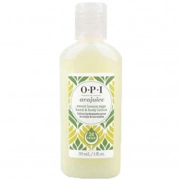 Avojuice Hydrating Skin Quenchers - Sweet Lemon Sage Hand & Body Lotion 30ml