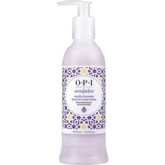 Avojuice Hydrating Skin Quenchers - Vanilla Lavender Hand & Body Lotion 250ml