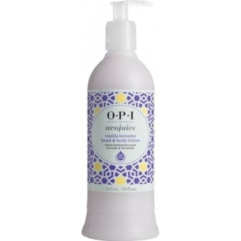 Avojuice Hydrating Skin Quenchers - Vanilla Lavender Hand & Body Lotion 600ml