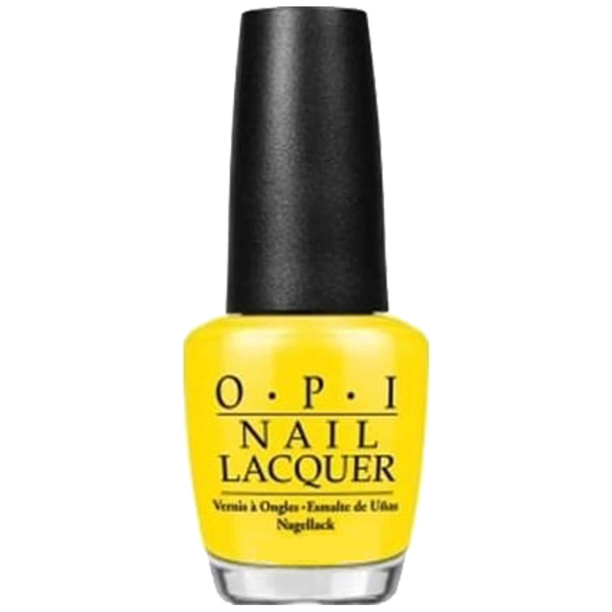 Yellow Nail Polish in OPI, Jessica, China Glaze, Essie & CND Vinylux