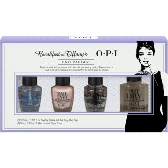 Breakfast At Tiffany's Nail Polish Collection 2016 - Care Package Treatment Mini Pack - 4 Piece (HRH34)