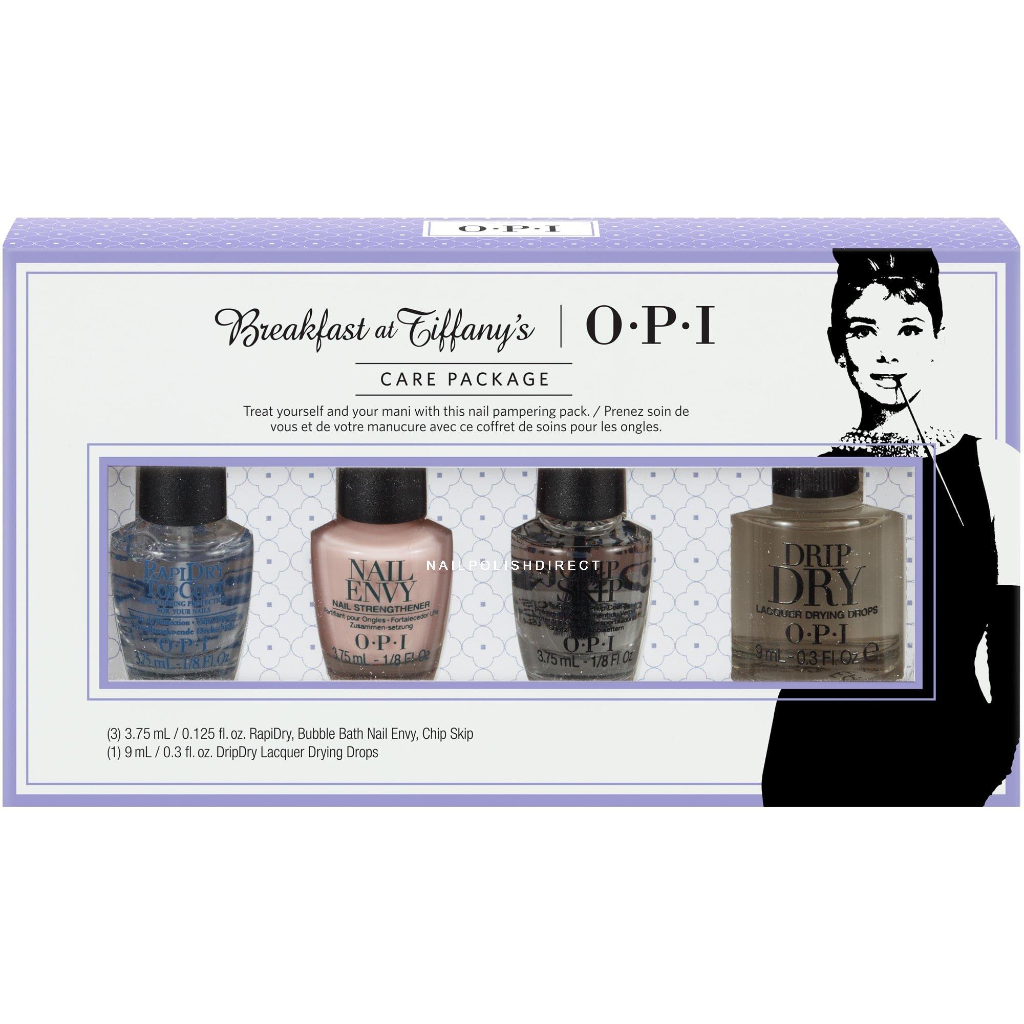 Nail Polish Package: OPI Breakfast At Tiffany's Nail Polish