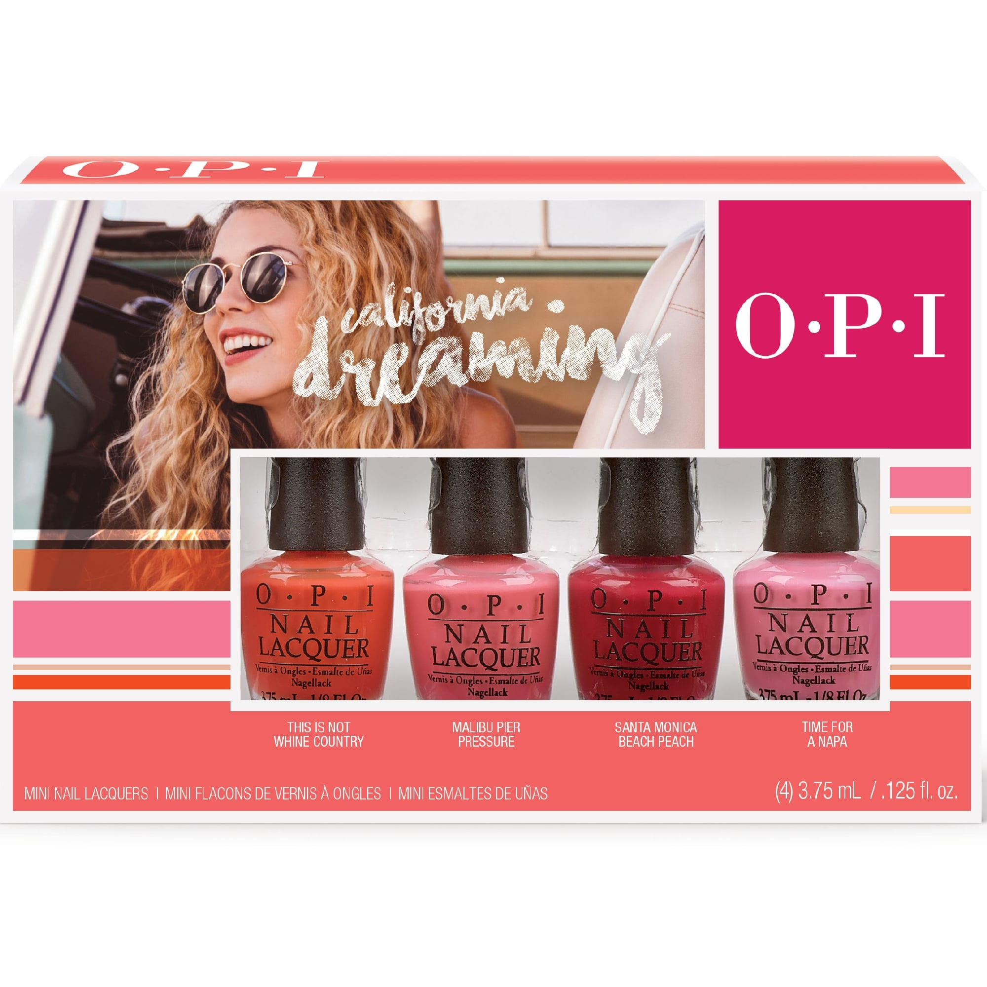 OPI California Dreaming 2017 Collection - Mini Pack (4 x 3.75ml)