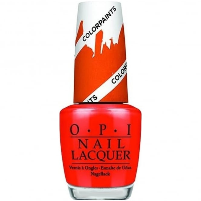 OPI Colour Paints Creative & Blending Nail Polish Collection - Chromatic Orange 15ml (NL P21)