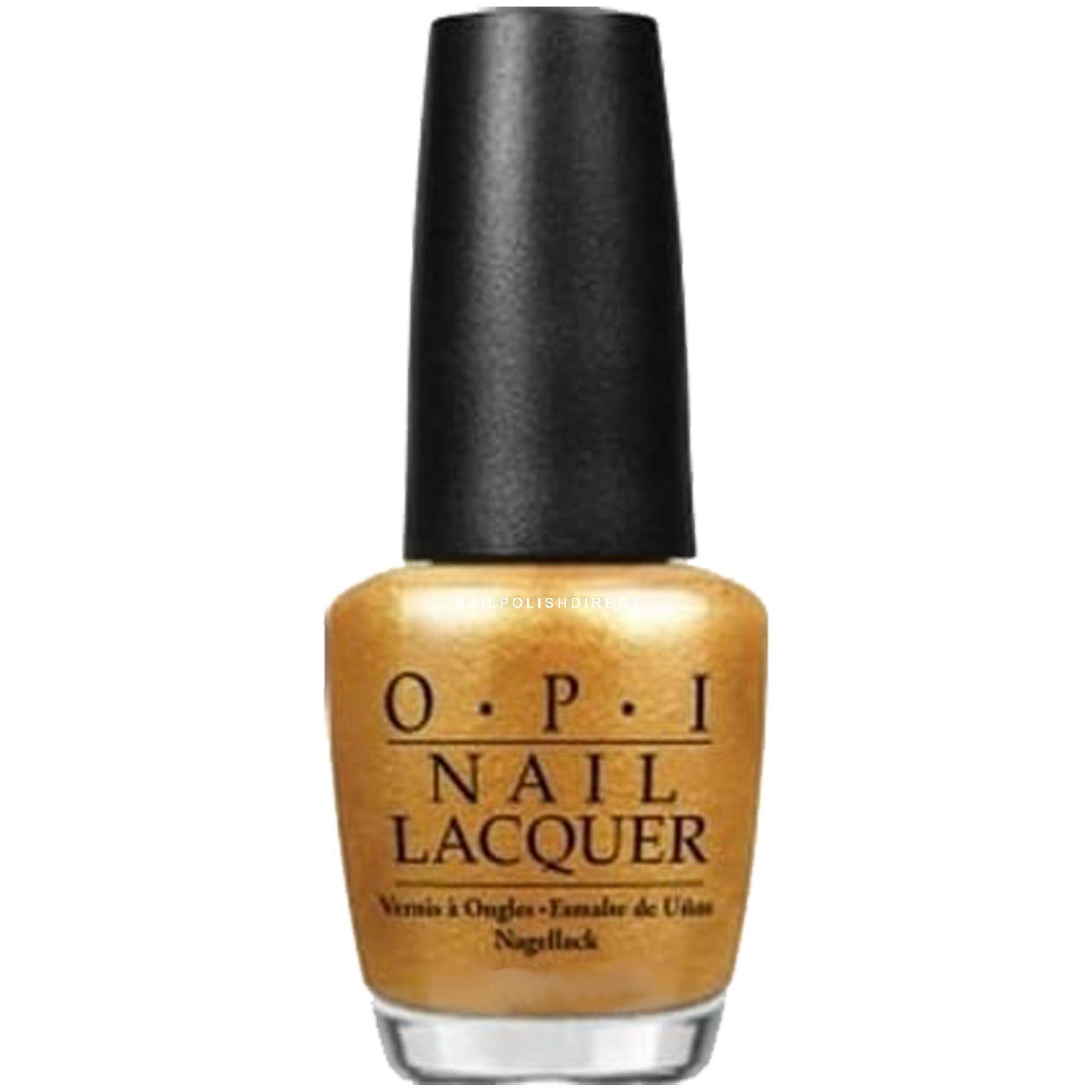 Gold Nail Polish in OPI, Jessica, China Glaze, Essie & Progel