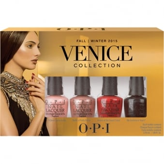 Fall Venice 2015 Nail Polish Collection - Little Bambinos 4 x 3.75ml (DC V07)