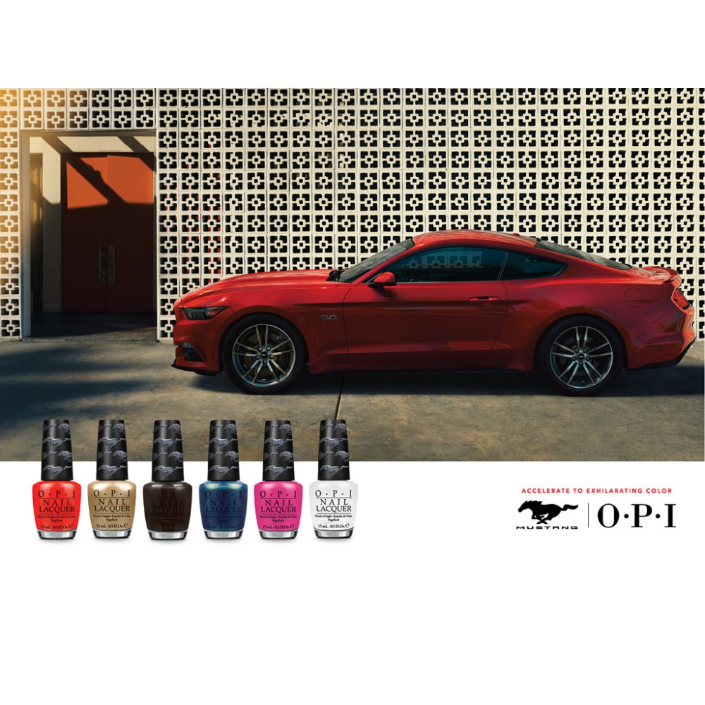 opi ford mustang nail polish collection girls love ponies 15ml. Black Bedroom Furniture Sets. Home Design Ideas
