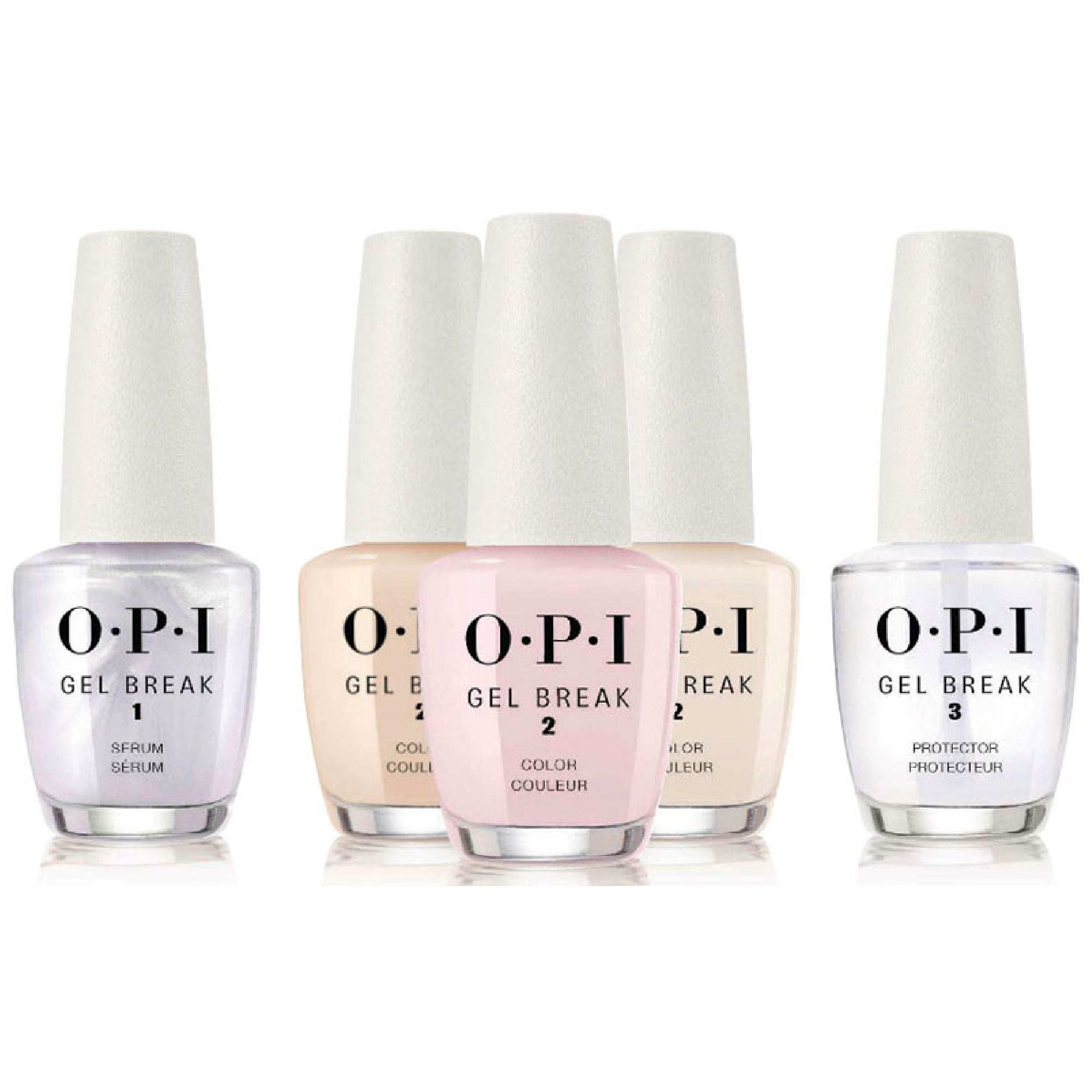 OPI Gel Break Set - Treatment System 5 Piece Kit (5 x 15ml)