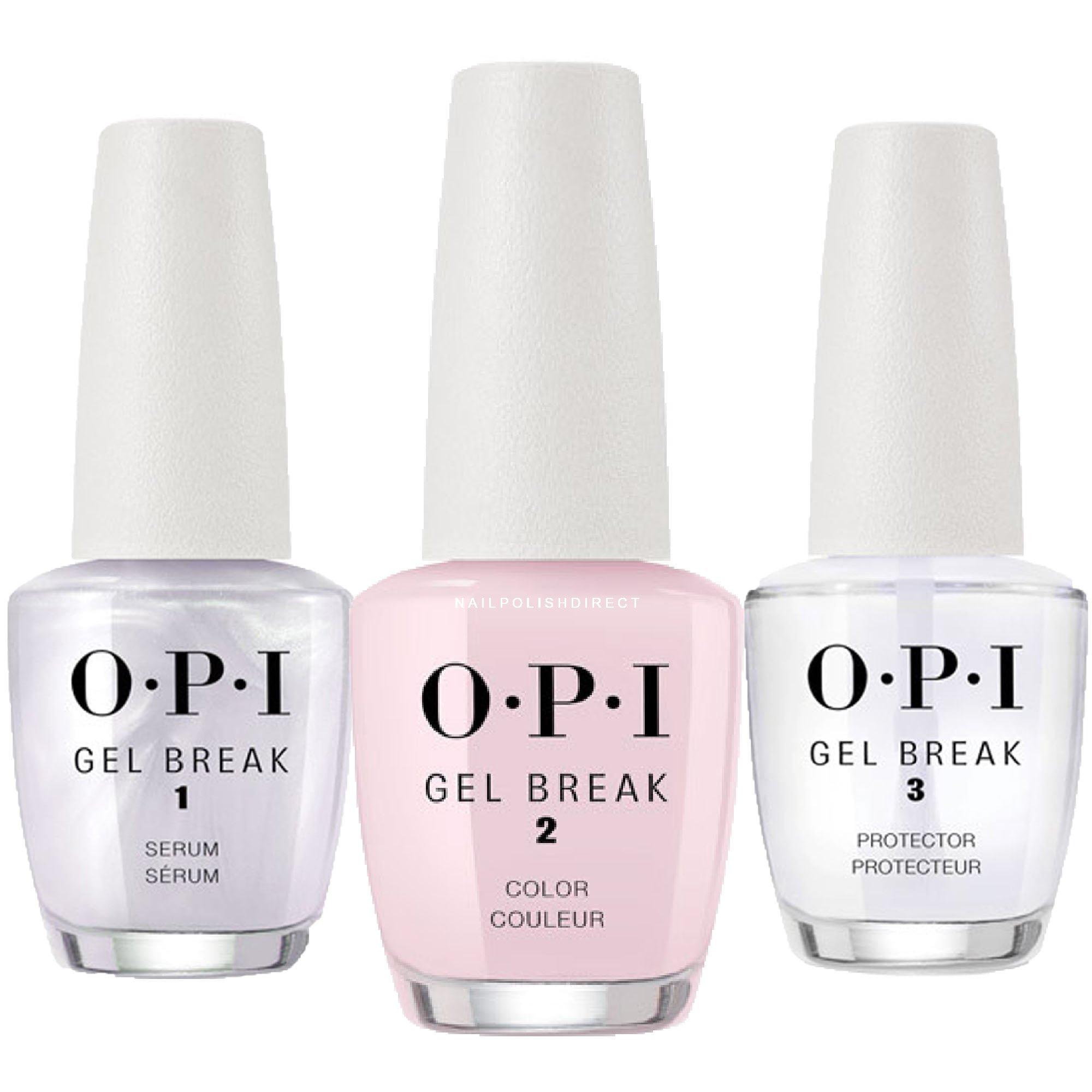 OPI Gel Break Trio Pack - Properly Pink (NT P01) 3 x 15ml