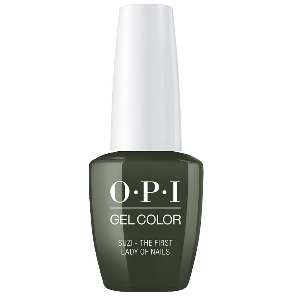 OPI GelColor OPI Gel Color - Soak off Gel Polish - Suzi The First Lady Of Nails 15ml (GC W55)