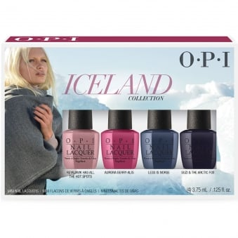 Iceland 2017 Nail Polish Collection - Mini Lacquer Set (4 x 3.75ml)
