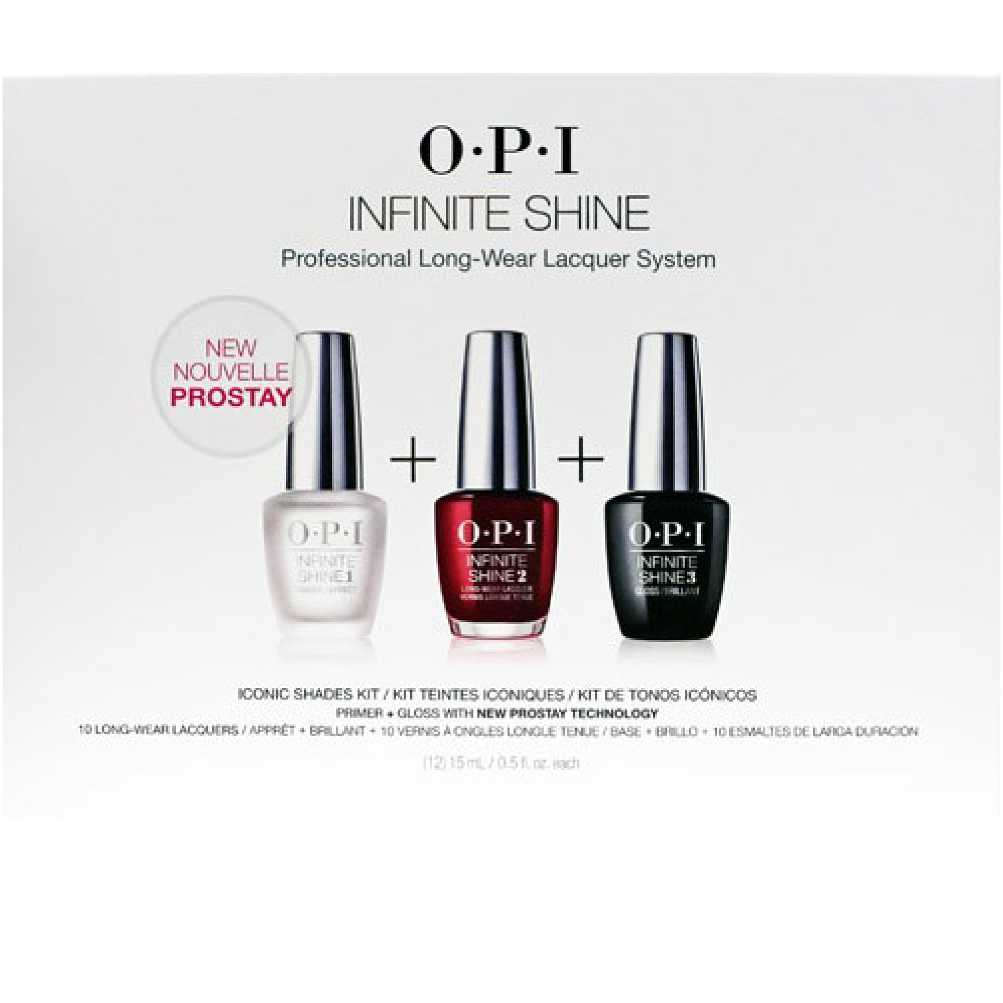 OPI Infinite Shine Professional System Iconic Shades Kit (12 x 15ml)