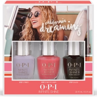 Time For A Napa Trio Pack (3 x 15ml) - California Dreaming 2017 Nail Polish Collection