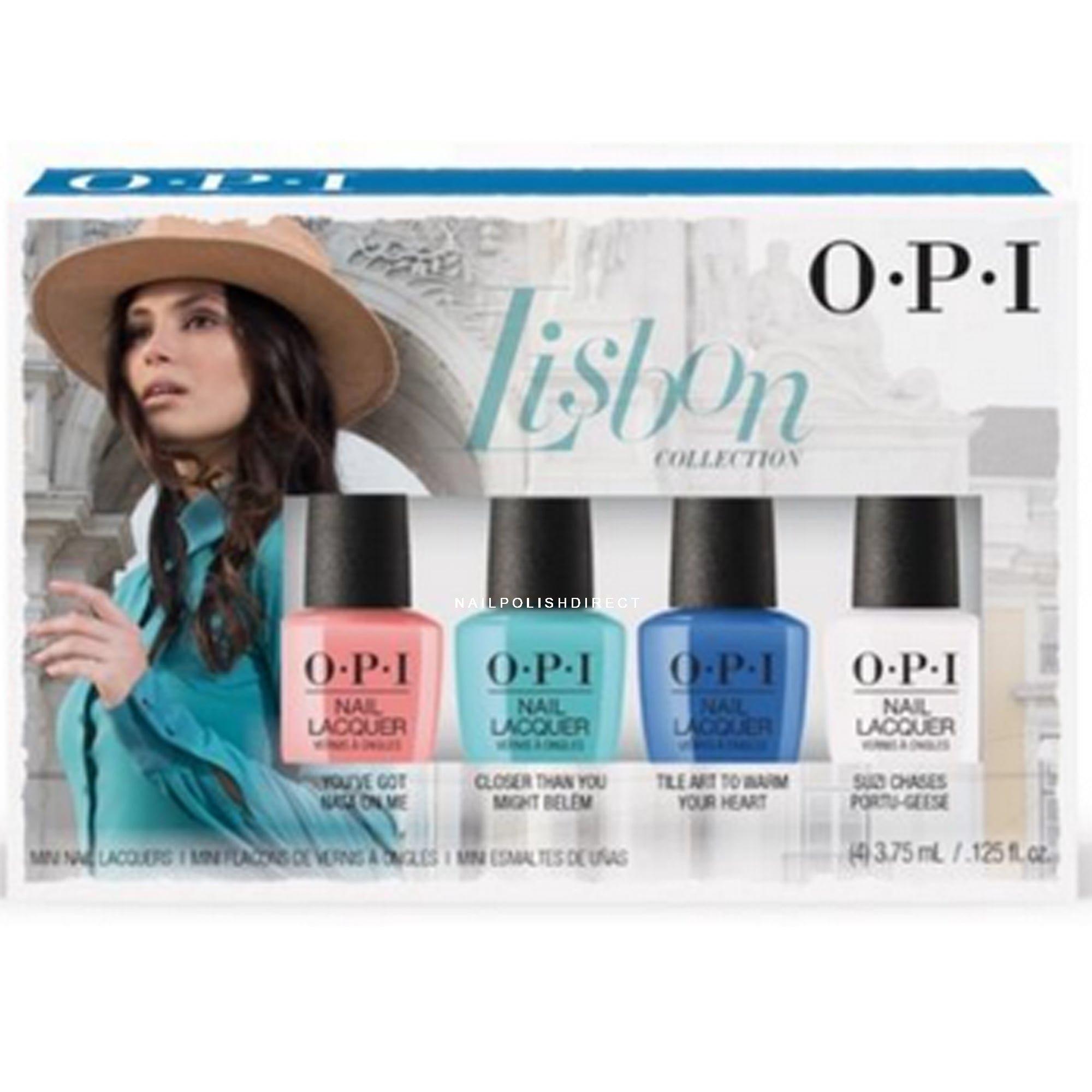 OPI Lisbon 2018 Nail Polish Collection - Mini Four Piece Set
