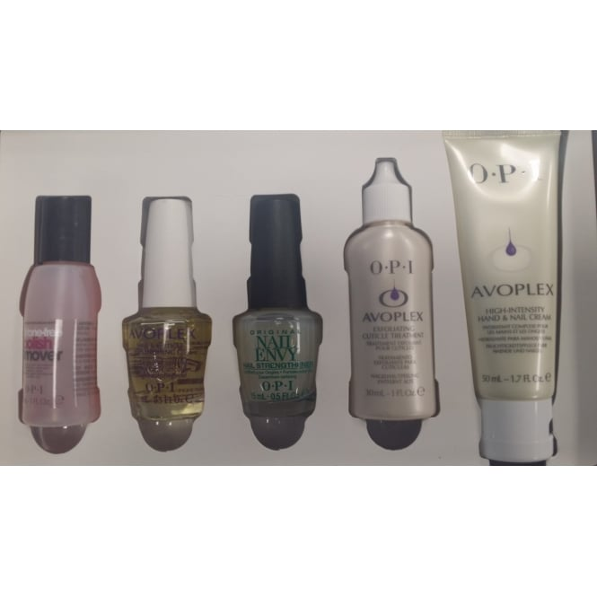 OPI Manicure & Pedicure Treatment Set - 5 Steps To Great Nails Kit