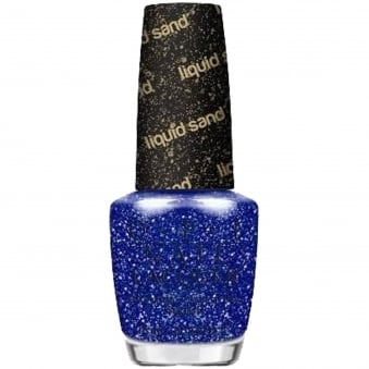Mariah Carey Autumn Fall 2013 Nail Polish Liquid Sand Collection - Kiss Me At Midnight 15ml (HL E22)