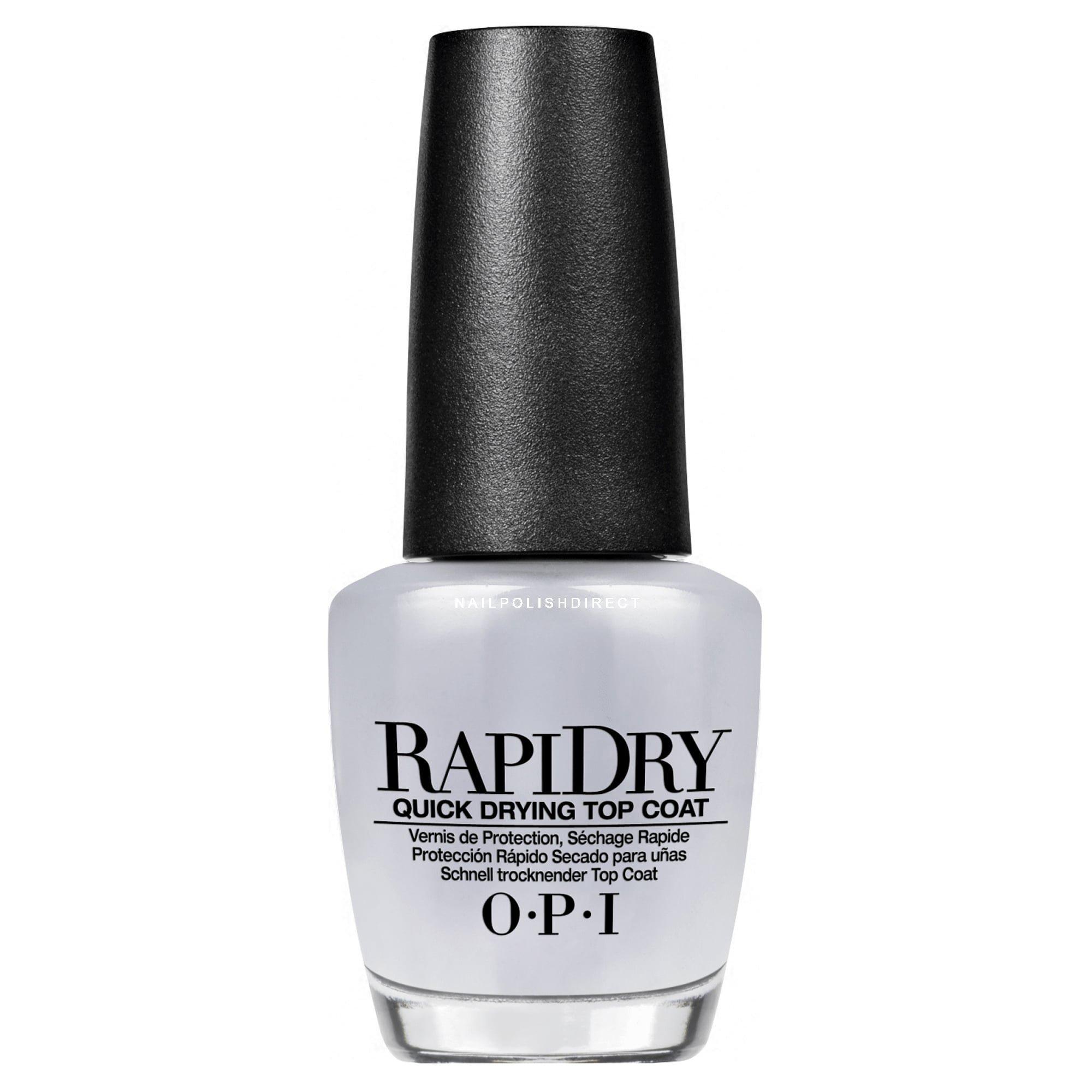 OPI Mini Treat RapiDry Top Coat - Quick-Dry Top Coat 3.75ml