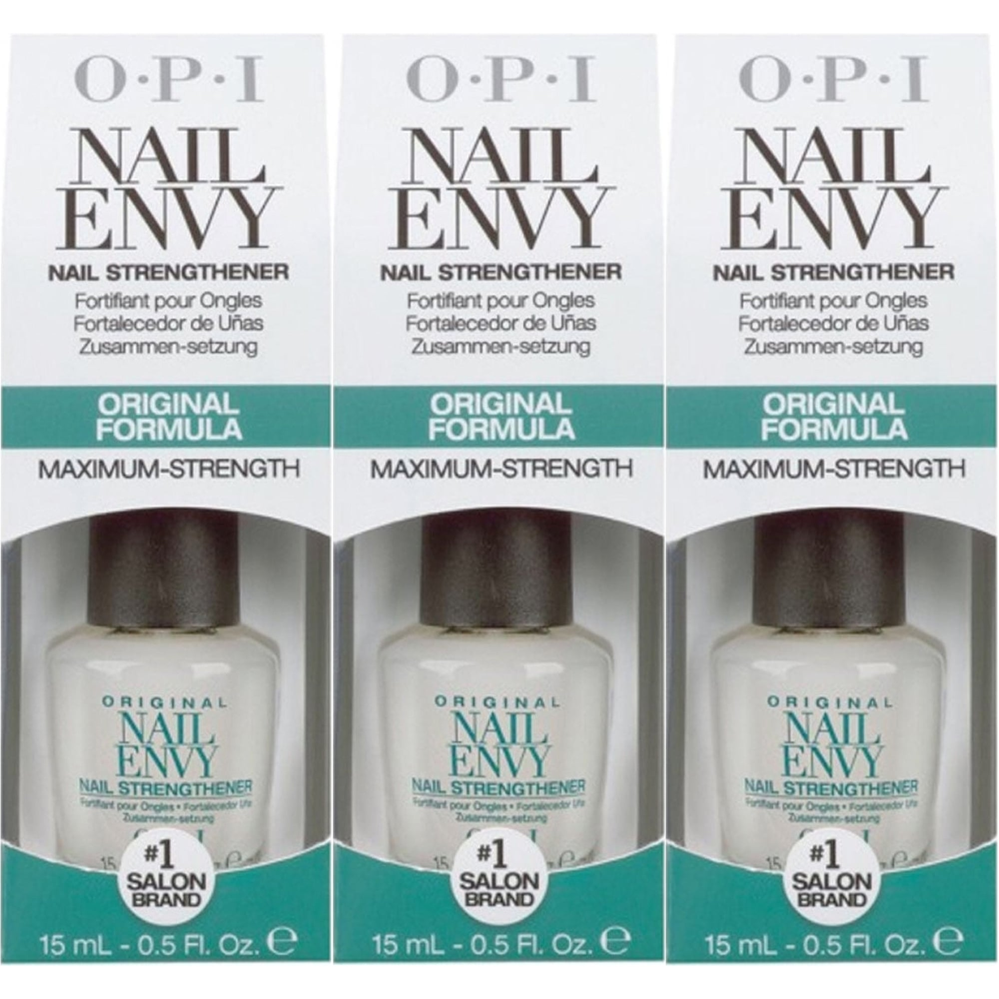 Nail Envy Nail Strengthener Original Formula (Maximum Strength) 3x15ML