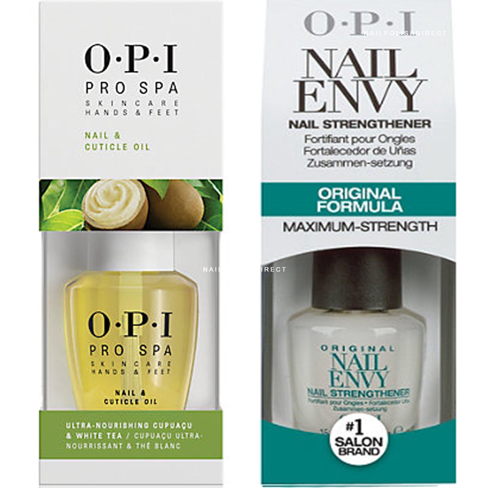 Nail Envy Legends Hours: OPI Nail Envy Original & Pro Spa Cuticle Oil Duo (1x 15ml