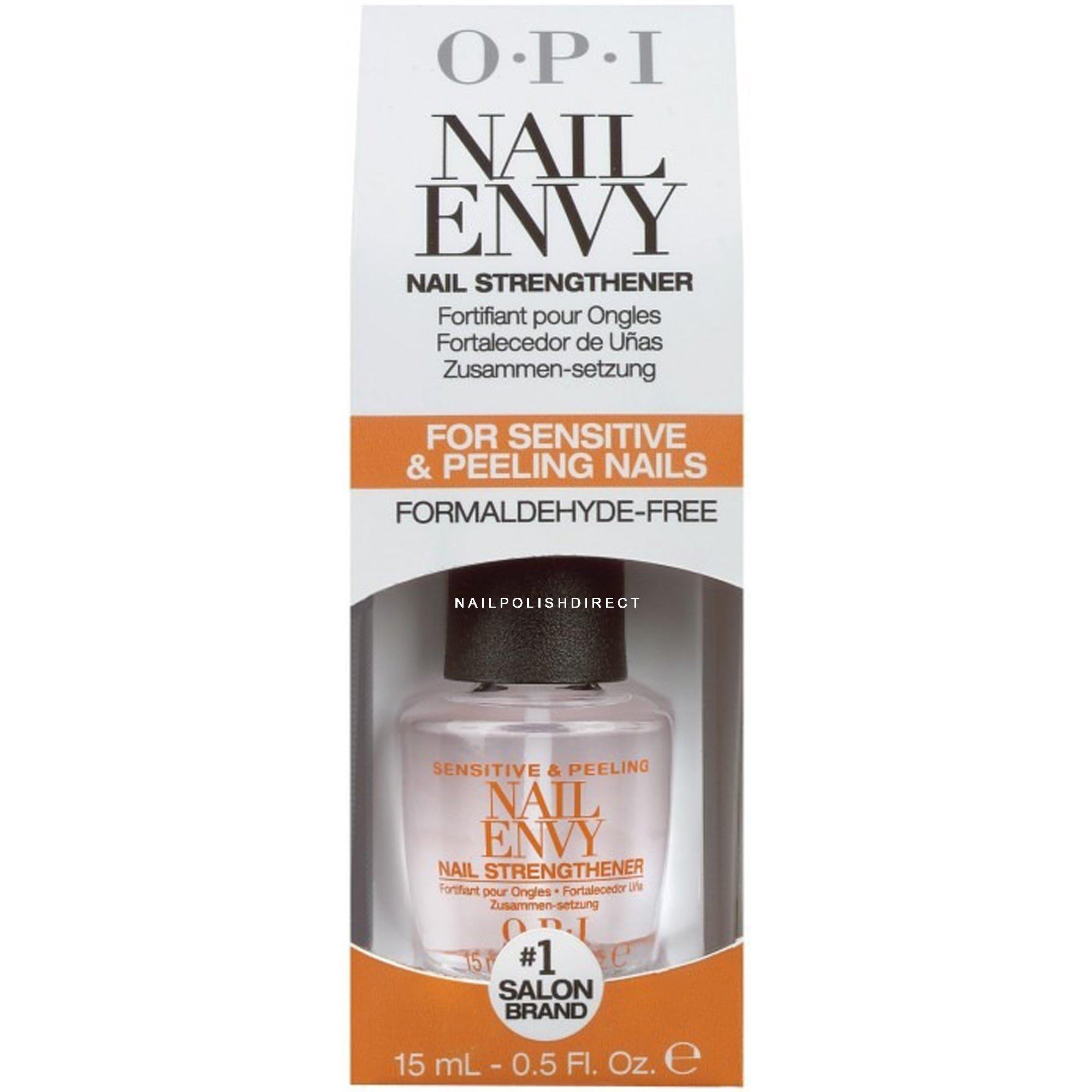 Nail Envy Legends Hours: OPI Nail Polish Sensitive & Peeling Formula 15ml