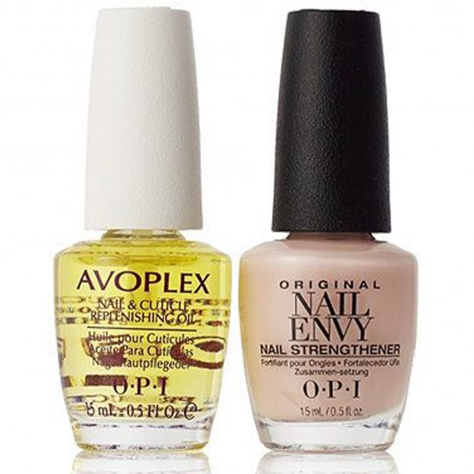 OPI Nail Envy Strengthener Bubble Bath & Avoplex Cuticle Oil Duo - Dream Duo (X2 15ML)