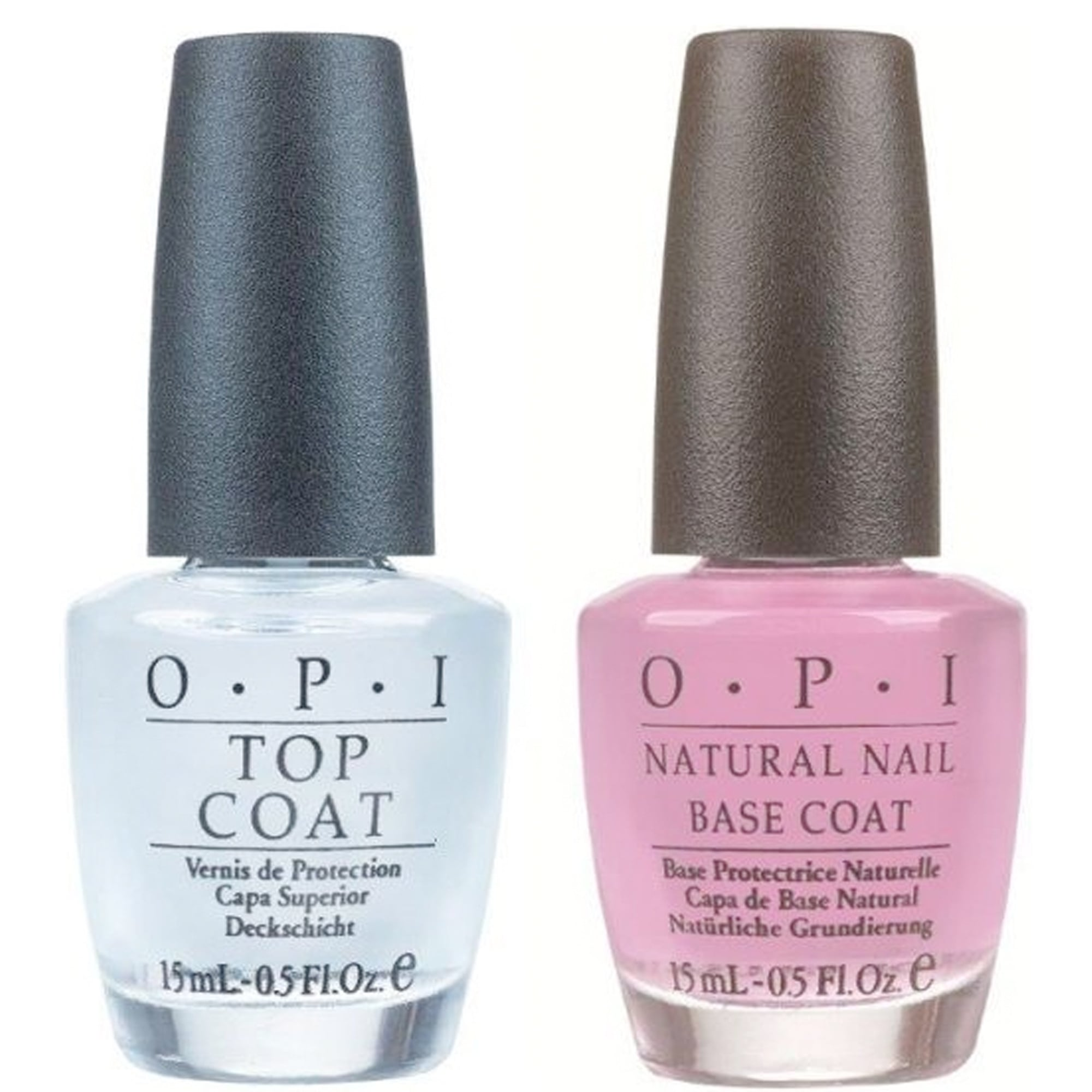 opi nail polish duo natural nail top coat basecoat x2 15ml. Black Bedroom Furniture Sets. Home Design Ideas