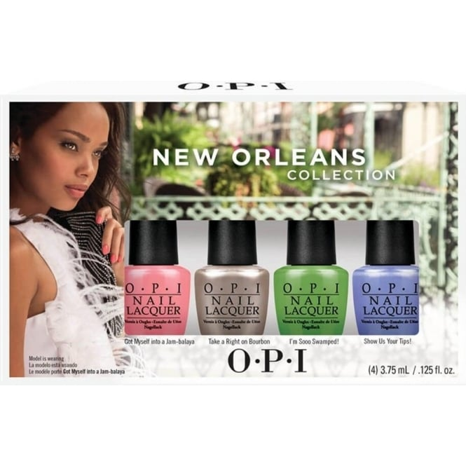 OPI New Orleans 2016 Spring Mini Nail Polish Collection - Jambalayettes (4 x 3.75ml)
