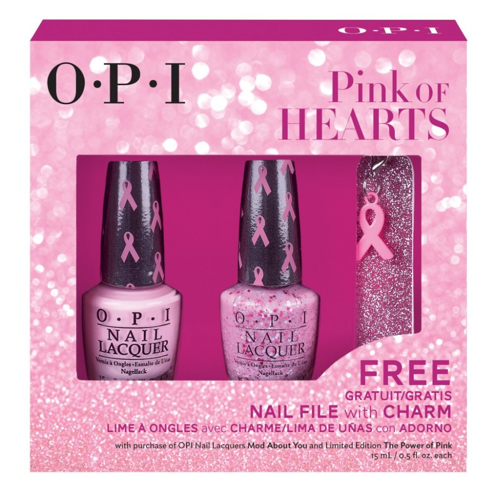 OPI Pink Of Hearts Duo Nail Polish Set Mod About You The