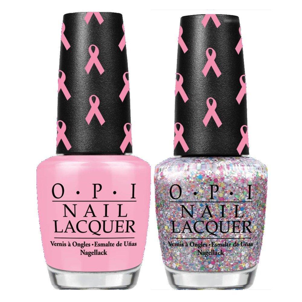 OPI Pink Of Hearts Breast Cancer Duo Nail Polish Set