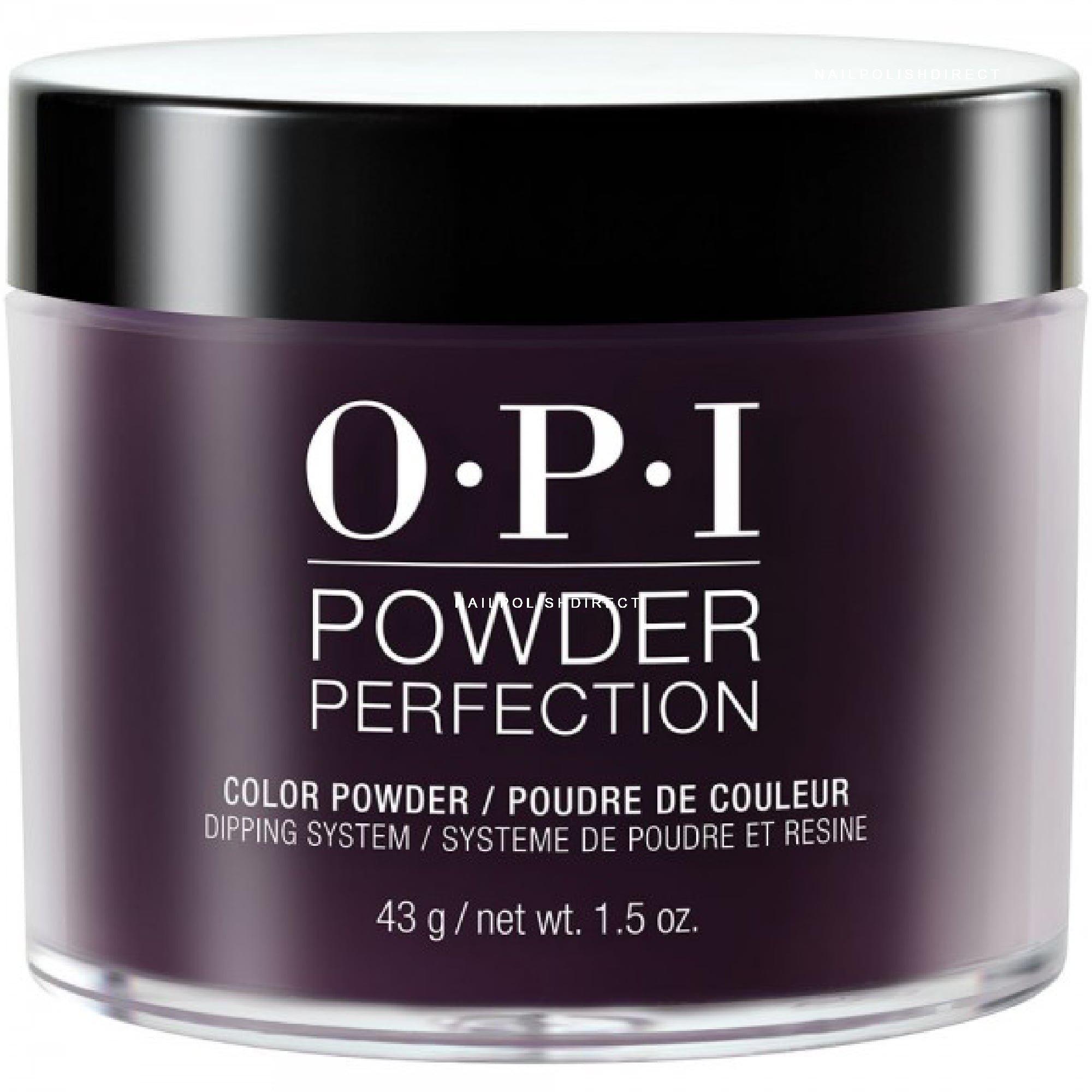 Opi Powder Nail Polish Kit: Lincoln Park After Dark (DP W42) 43g