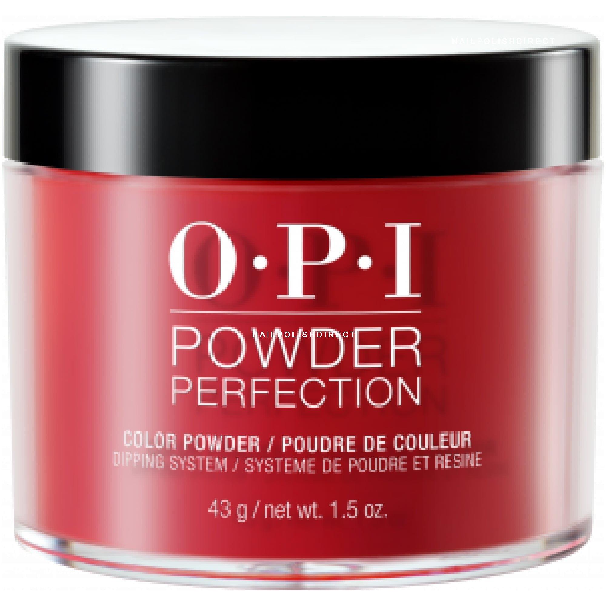 Opi Powder Nail Polish Kit: The Thrill Of Brazil (DP A16) 43g