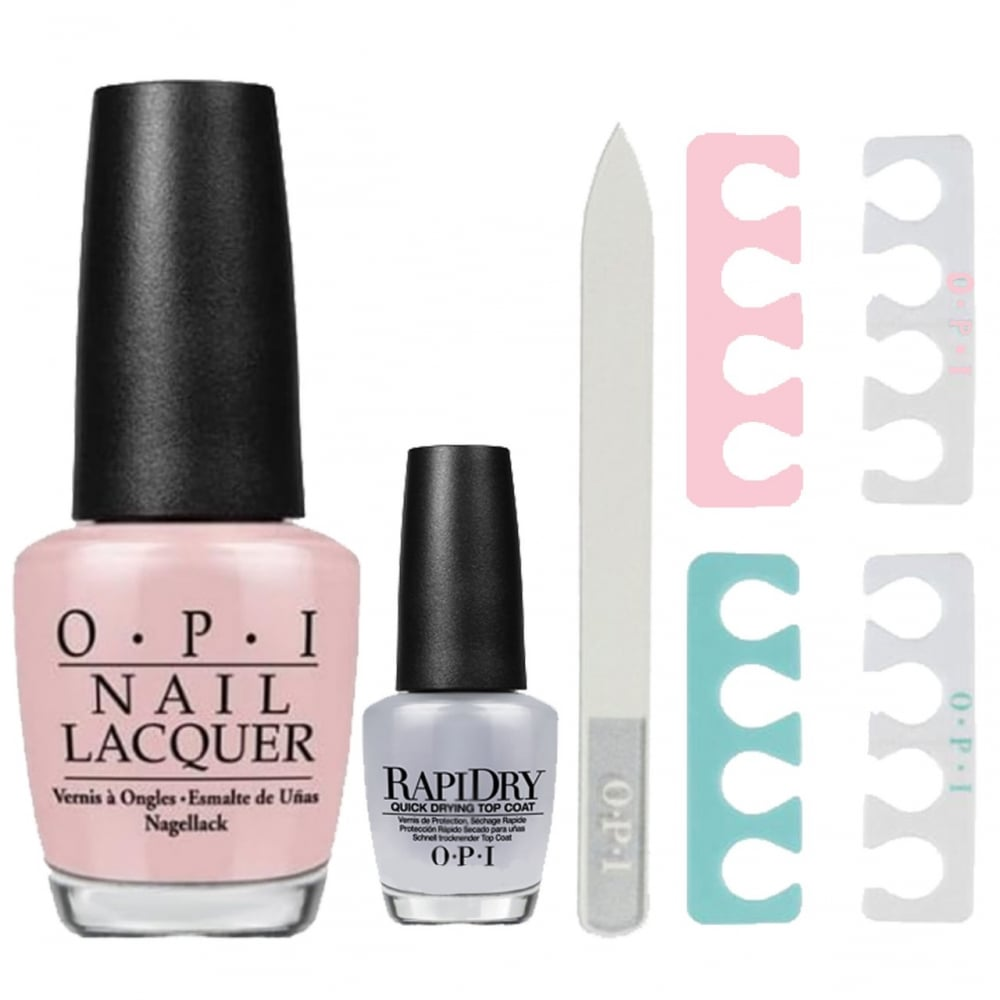 OPI Put It In Neutral Rapid Dry Application Set (4 Piece Set)