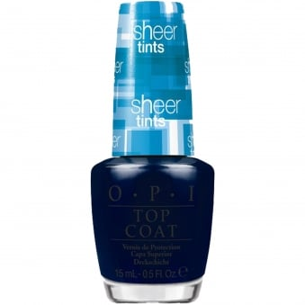 Sheer Tint Nail Polish Collection Topcoat 2014 - I Can Teal You Like Me 15ml (NT S04)